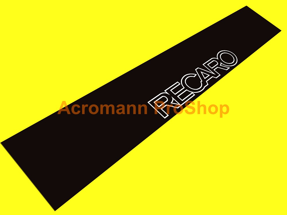 RECARO Windshield Decal (Style#4)